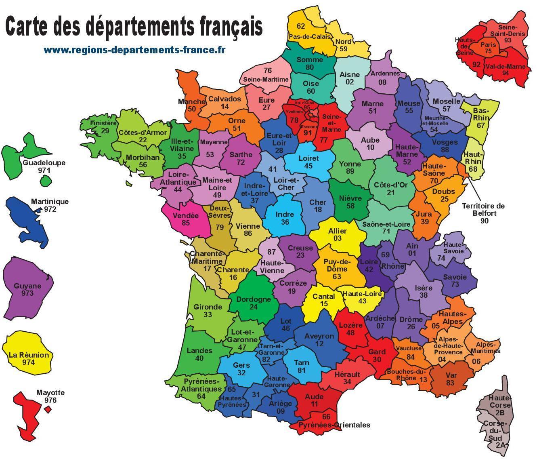 départements de france