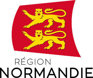 Logo officiel du de la région Normandie.