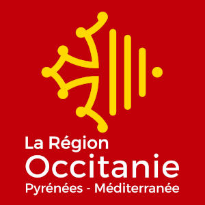 Logo officiel du de la région Occitanie.